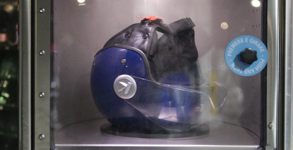 sanificazione caschi moto a roma