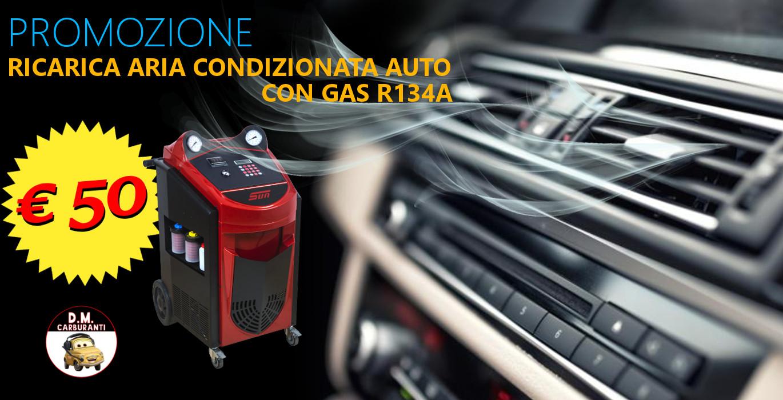 Promozione ricarica aria condizionata auto