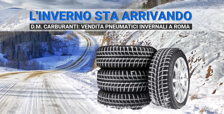 Vendita pneumatici invernali a Roma
